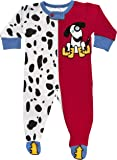Sozo Baby-Boys Newborn Dalmatian Footed Romper
