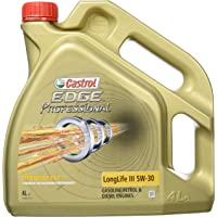 Castrol 157EA4 Aceite del Motor Edge Professional Titaniumfst Longlife III 5W-30, 4 l