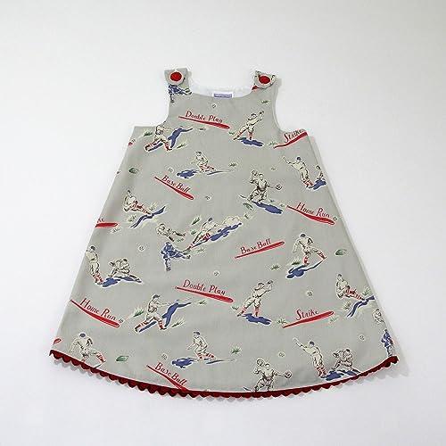 Amazon.com  Girls Baseball Dress 230b84a8ce