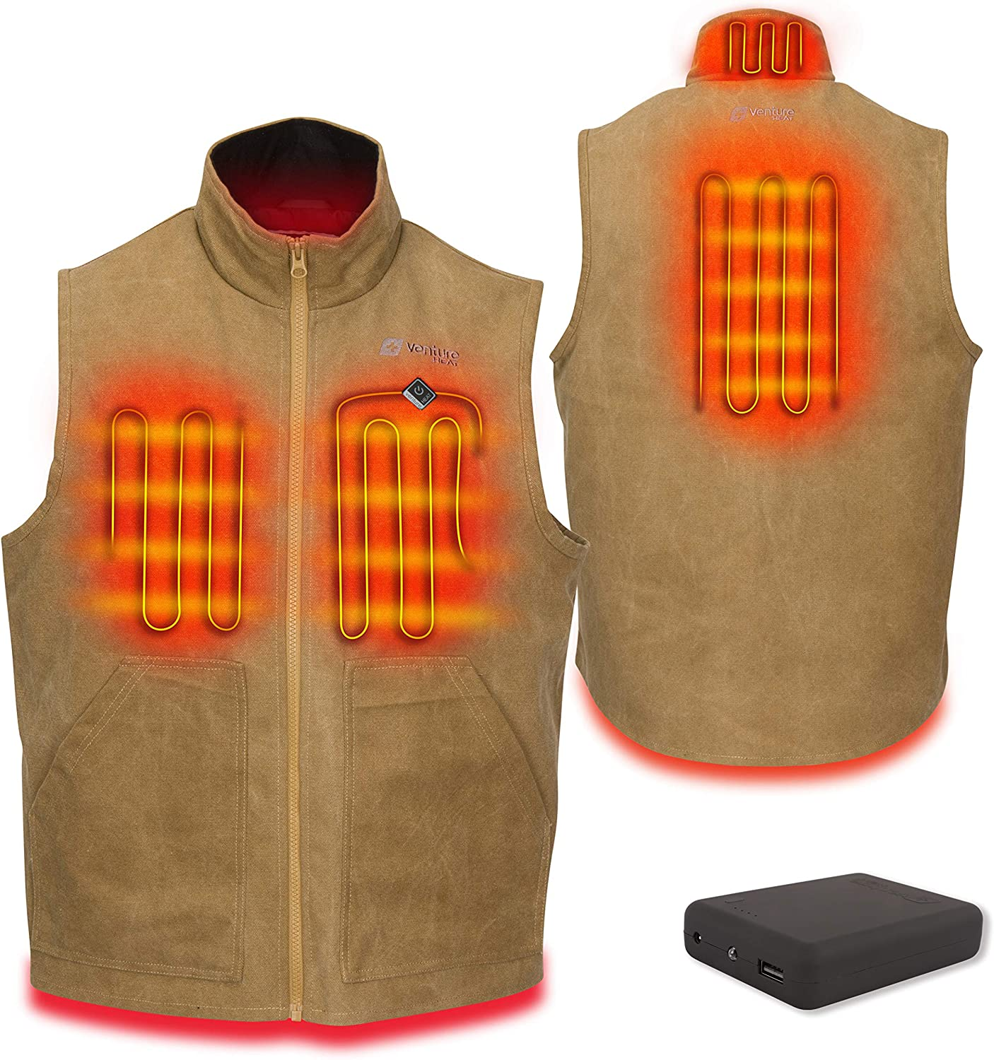 B Heater Hunting Vest Heated Jacket Heating Winter Ches Men Thermal Outdoor