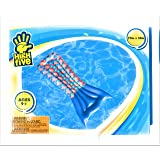 Pool Float Mermaid tail floating raft 72 inch by 35 inch high five