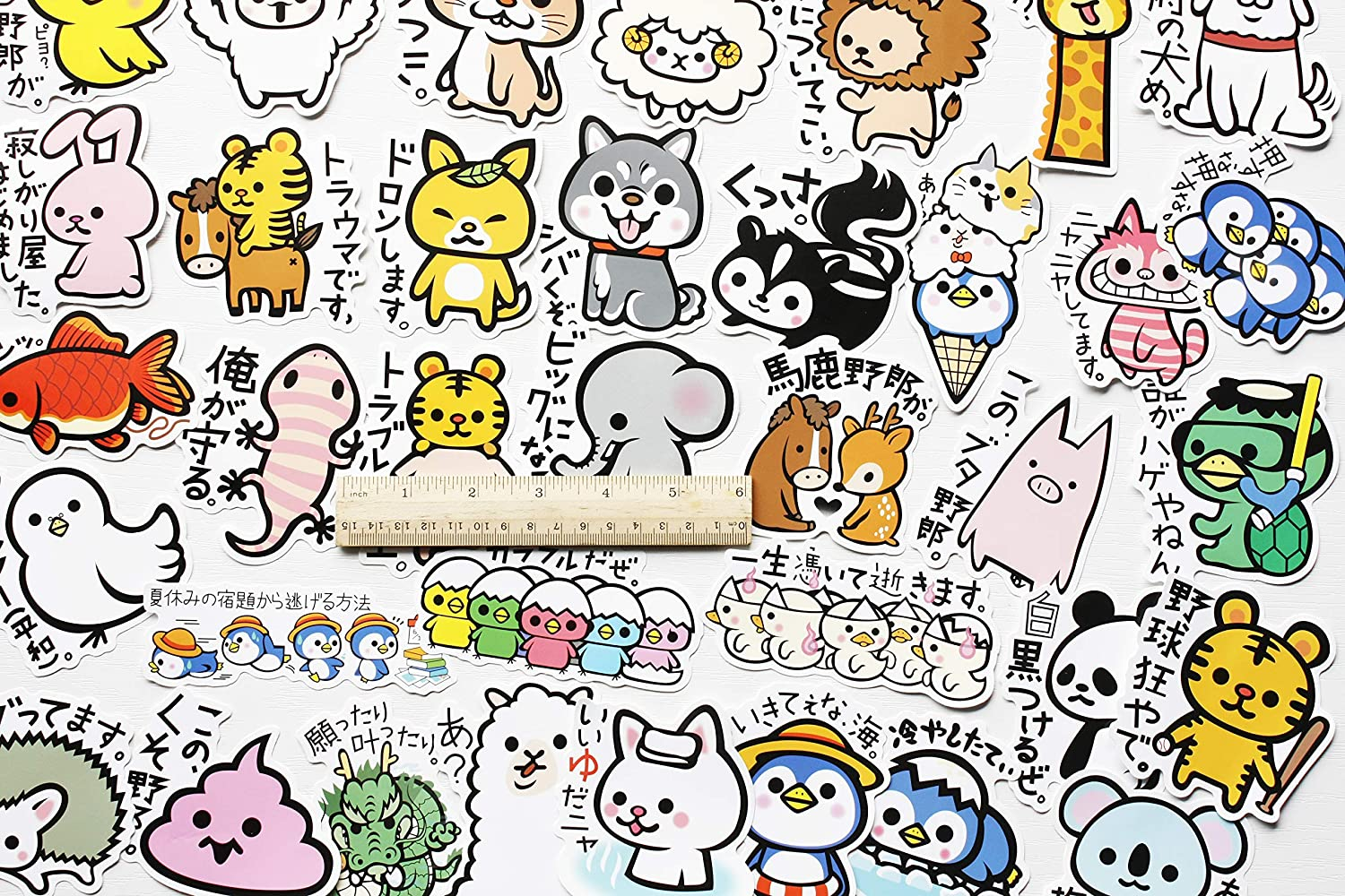 50Pcs Funny Stickers Boxer Stickers Dog Decals Cute Animal for Kids Stickers for Hard Hats Animal Crossing Sticker School Stickers