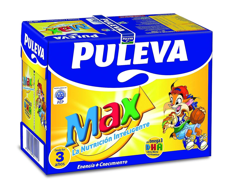 Puleva Leche Max Energía y Crecimiento - Pack 6 x 1 L - Total: 6 L: Amazon.es: Alimentación y bebidas