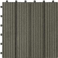 Loseta composite maciza base plástica 300x300 mm. (caja:11