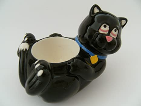 Huevera portavelas gato 11 cm gatos animales Animales portavelas gatito mascotas