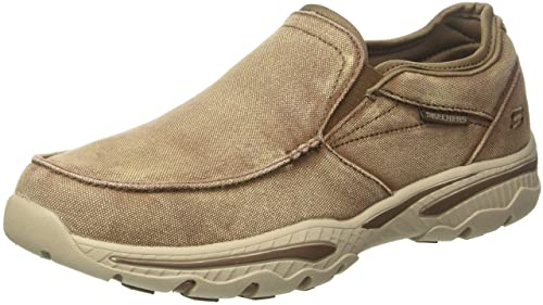 Skechers Creston-Moseco, Mocasines para Hombre: Amazon.es: Zapatos y complementos