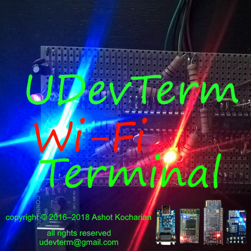 Interactive Wi-Fi Color Terminal