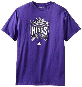 Adidas NBA Sacramento Kings Logo del Equipo Camiseta, Hombre, Sacramento Kings, Small: Amazon.es: Deportes y aire libre