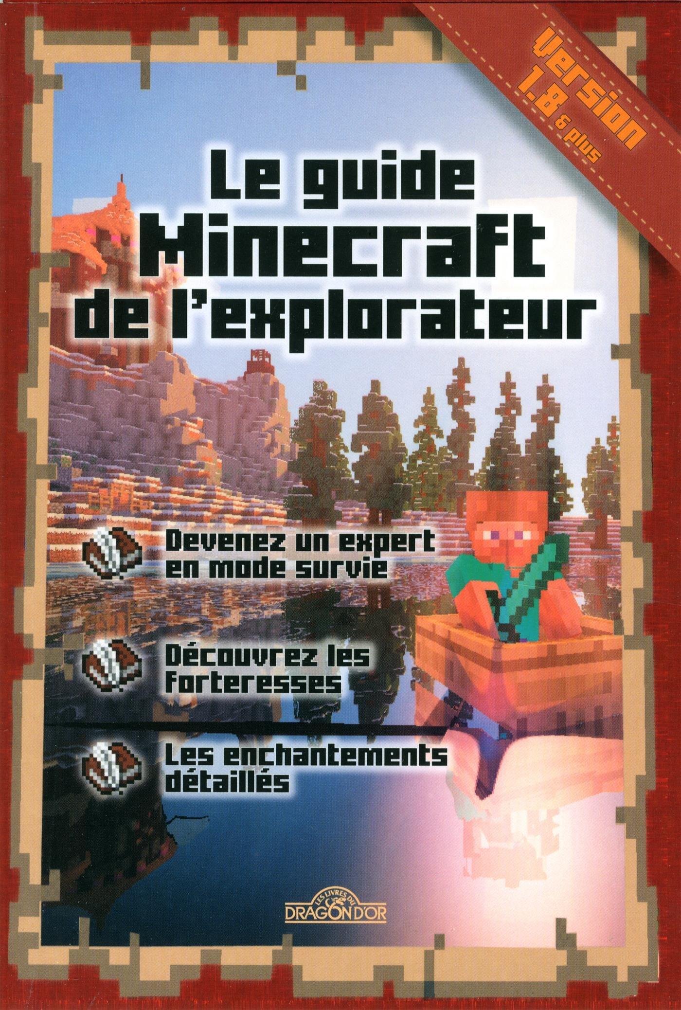 """Résultat de recherche d'images pour """"guide minecraft de l'explorateur"""""""