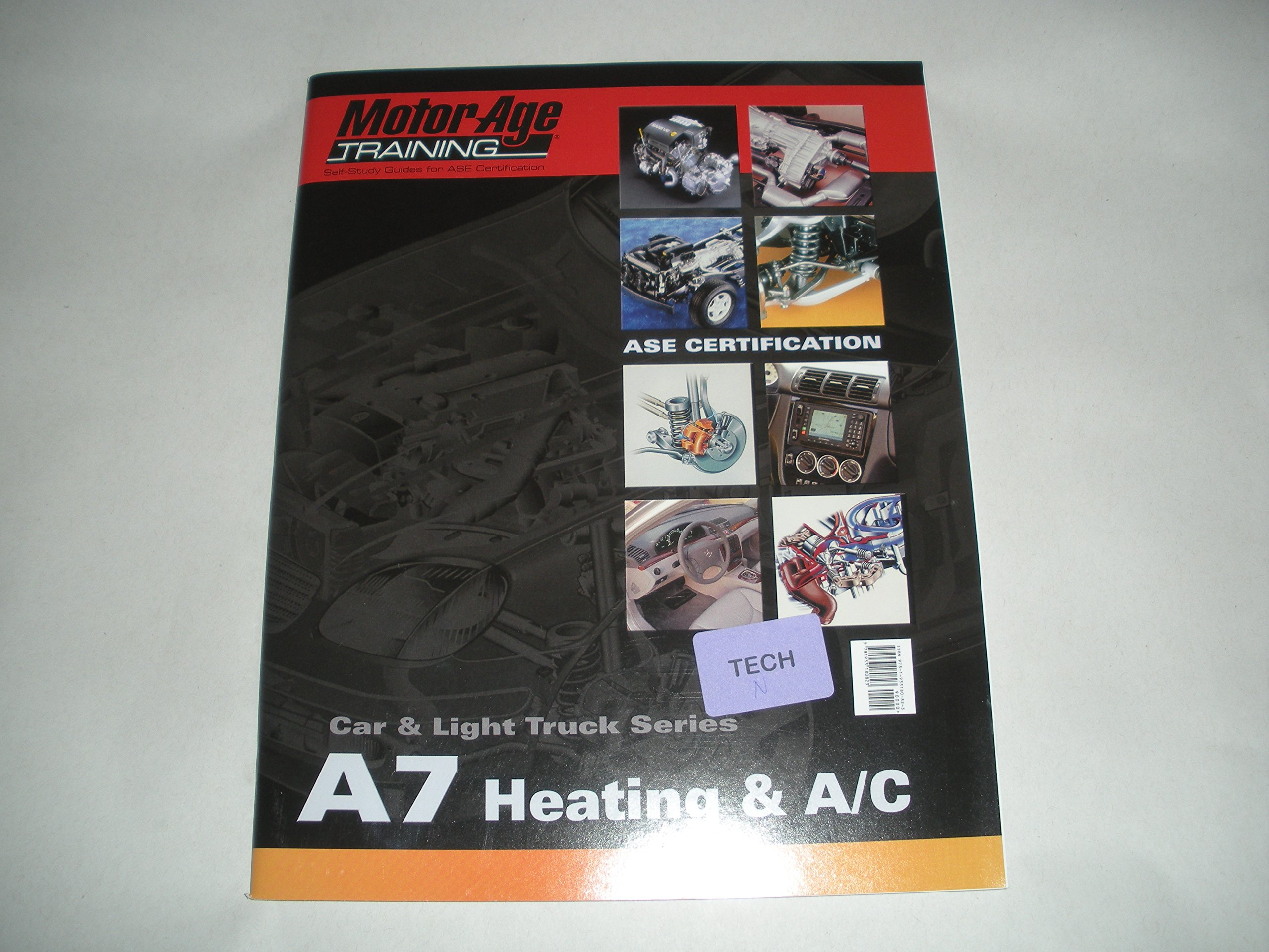 A7 Heating Ac Motor Age Training Self Study Guide For Ase