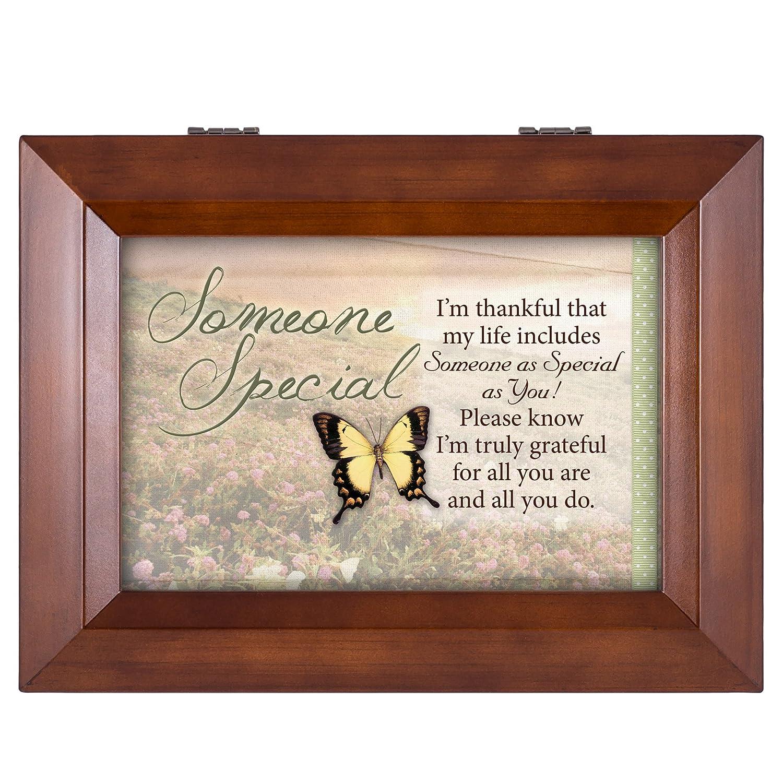 豪奢な Someone B00XAT5K3K Special My Butterfly Box Grateful Wood Finish Jewellery Music Box - Plays Tune You Are My Sunshine B00XAT5K3K, オオサトチョウ:dd3f1294 --- arcego.dominiotemporario.com