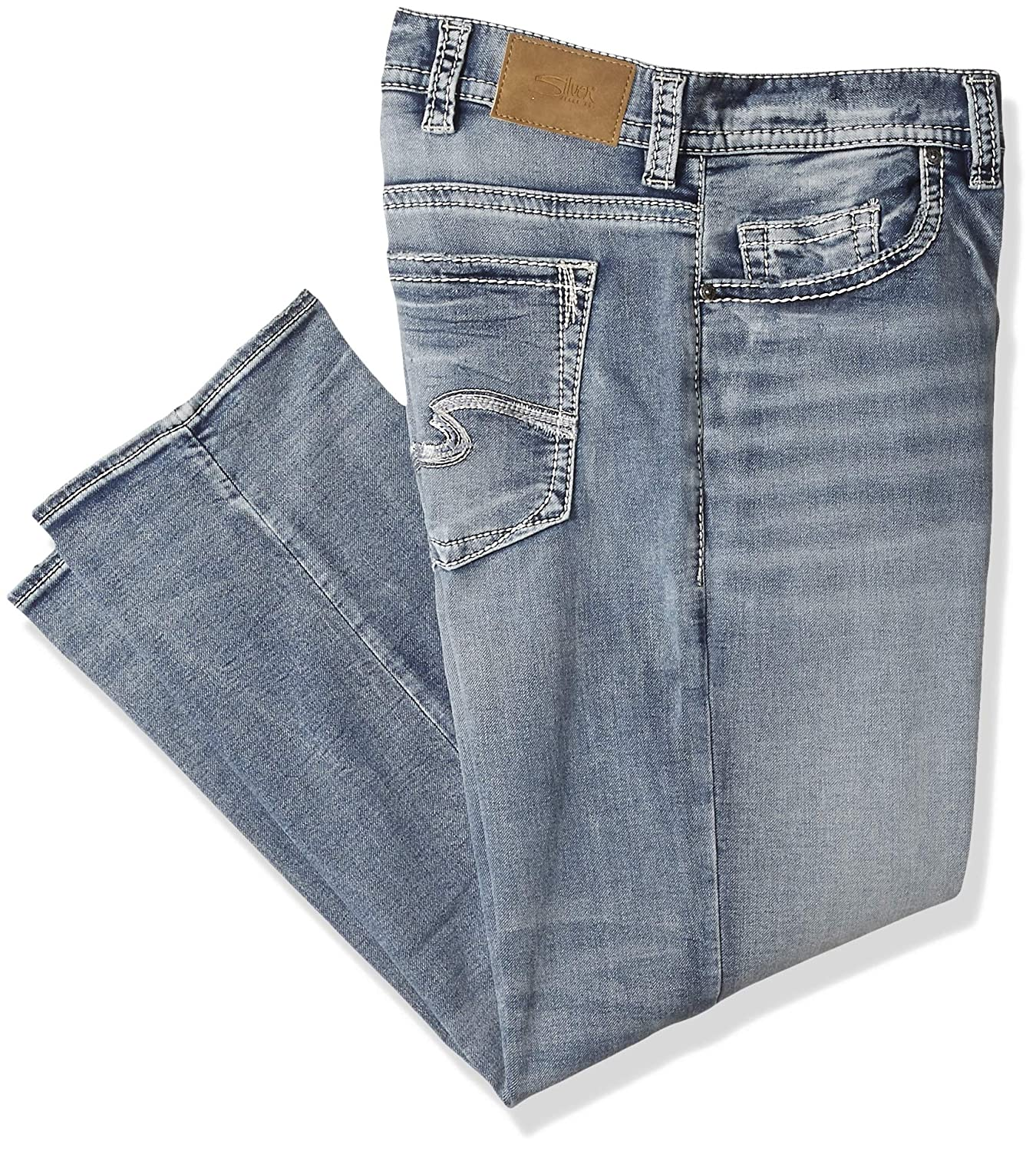 2bda0c92556 Amazon.com  Silver Jeans Co. Men s Big and Tall Grayson Easy Fit Straight  Leg  Clothing