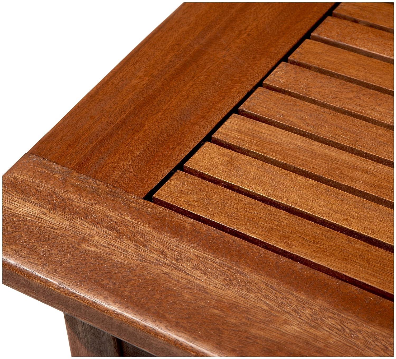 Amazon.com : Strathwood Gibranta All-Weather Hardwood Coffee Table : Patio  Furniture : Garden & Outdoor