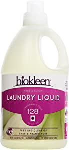 biokleen, Laundry Liquid, Free & Clear, 64 oz