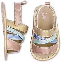 OshKosh B'Gosh Girls Strappy Sandals Crib Shoe Gold Newborn