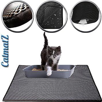 CatmatZ: Alfombrilla de Trampa para Gatos – tamaño Grande Muy Suave en Las Patas –