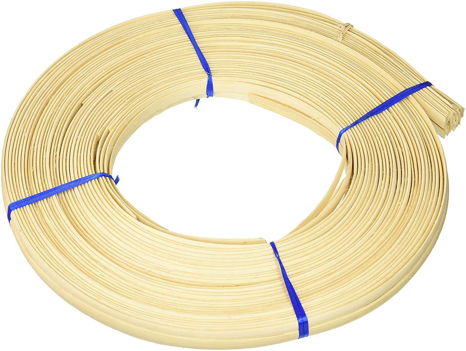 Commonwealth Basket Flat Oval Reed 3/8-Inch 1-Pound Coil, Approximately, 175-Feet 38FOC