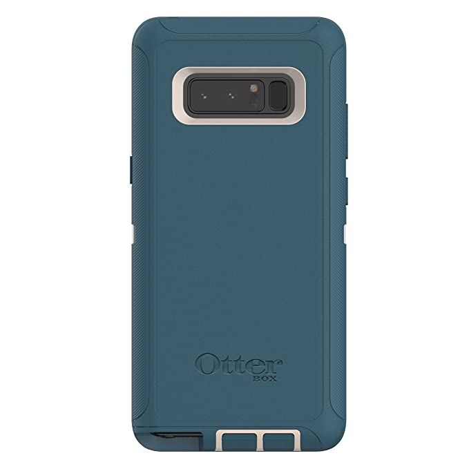 buy popular c5b11 b561d OtterBox DEFENDER SERIES SCREENLESS EDITION Case for Samsung Galaxy Note8 -  Retail Packaging - BIG SUR (PALE BEIGE/COSAIR)