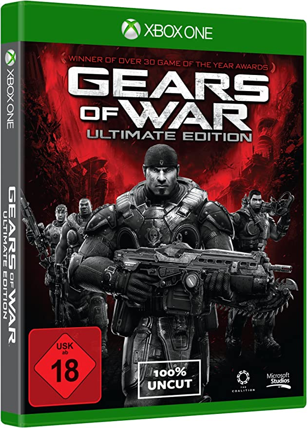 Microsoft Gears of War: Ultimate Edition vídeo - Juego (Xbox One ...
