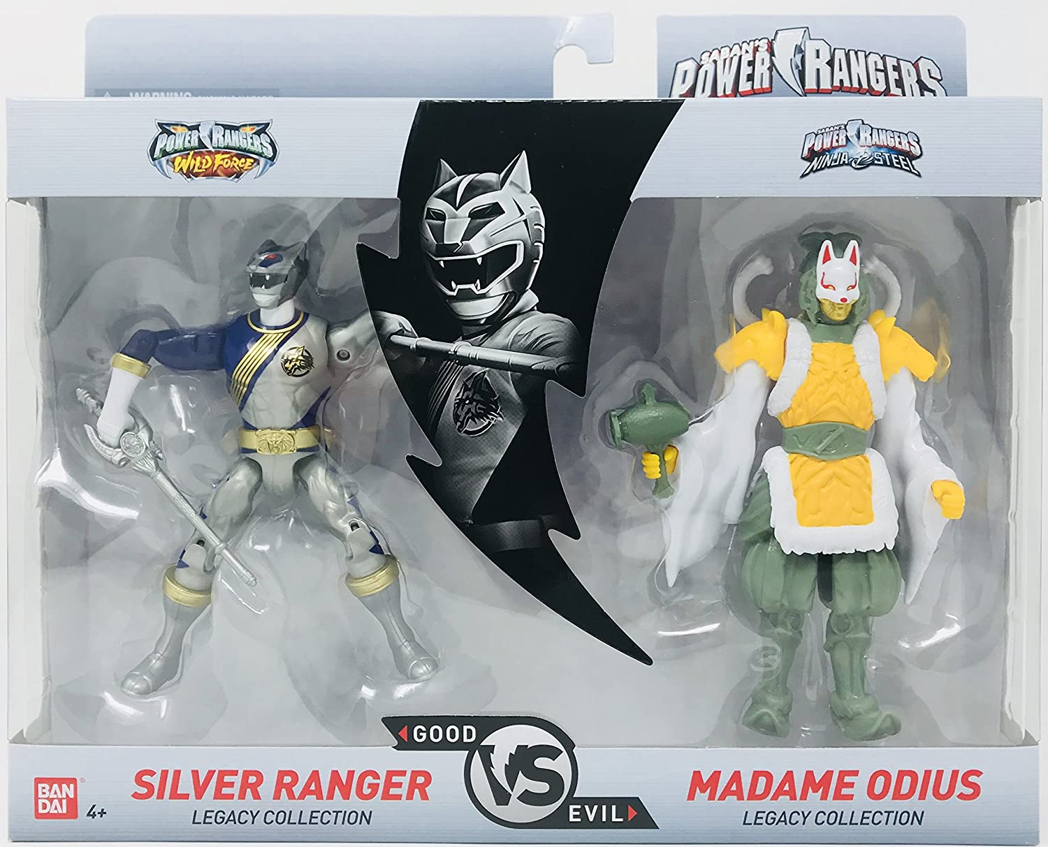 Bandai Power Rangers Legacy Collection (Silver & Madame ODIUS)