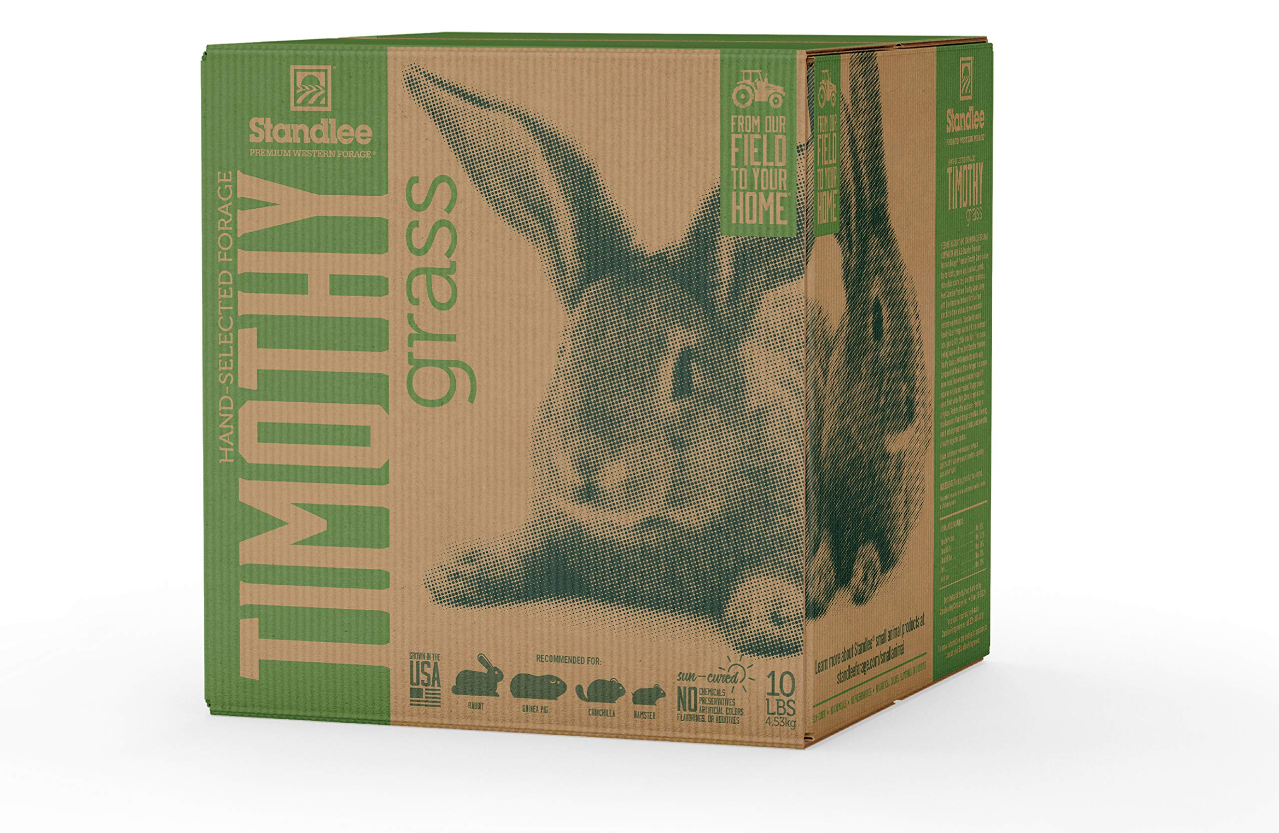 STANDLEE Premium Timothy Grass Hand-Selected Forage, 10lb Box by Standlee Hay Company (Image #1)