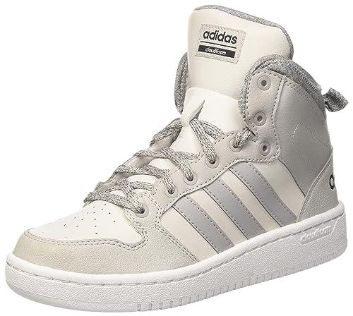adidas CF Hoops Mid WTR W, Zapatillas de Deporte para Mujer, Gris (Griuno/Gridos/Negbas), 44 EU: Amazon.es: Zapatos y complementos