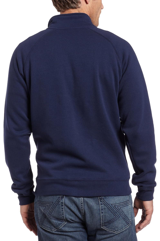 Herren Sweatjacke Midweight Mock Neck Zip Front Sweatshirt von Carhartt