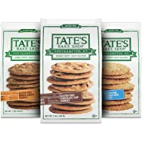 Tate's Bake Shop Gluten Free Cookies Variety Pack, Coconut Crisp, Ginger Zinger and Chocolate Chip Cookies, 3 - 7 oz…