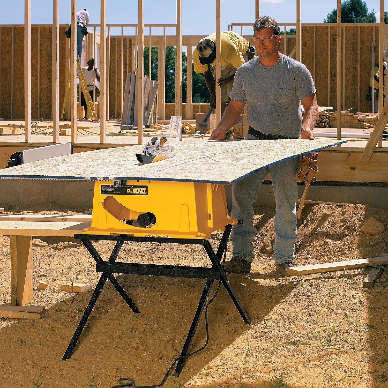 DEWALT DWE7490X 10 Inch Job Site Table Saw With 28 1/2 Inch Max Rip  Capacity   Power Table Saws   Amazon.com