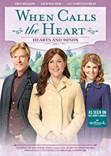 Book Cover: When Calls The Heart: Hearts And Minds