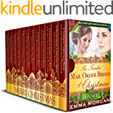 The Twelve Mail Order Brides of Christmas Box Set: Mail Order Bride Christmas Romance