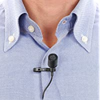 CEUTA® Collor Mic Professional Grade Lavalier Lapel Microphone Omnidirectional Mic with Easy Clip On System Perfect for Recording Youtube/Interview/Video Conference/Podcast/iPhone