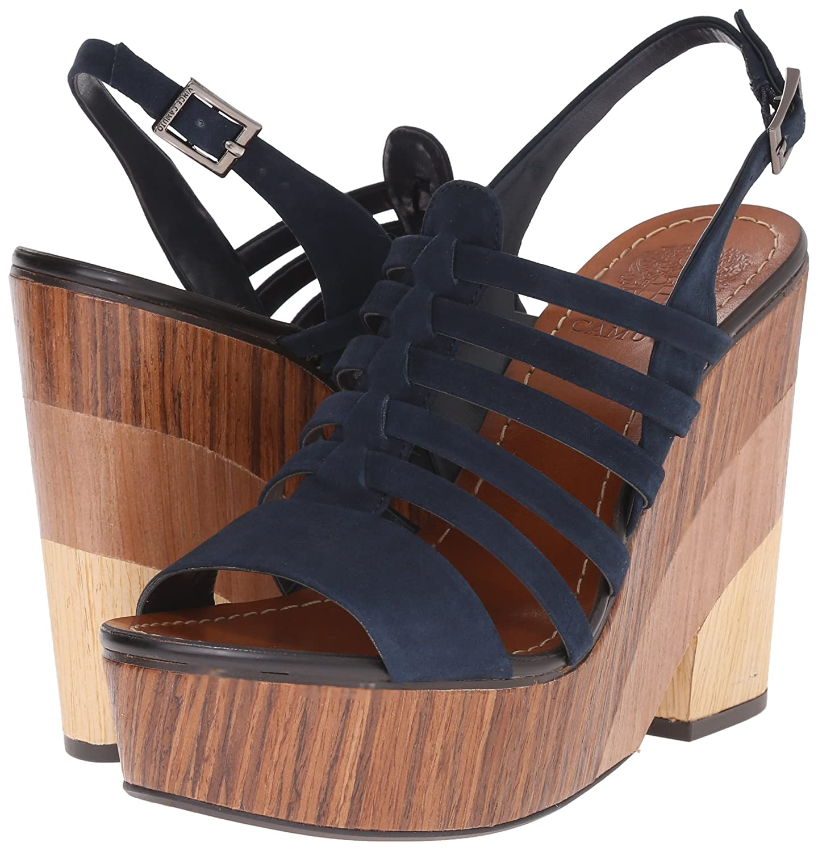 bee4978585 Amazon.com | Vince Camuto Women's Onia Platform Sandal | Platforms & Wedges