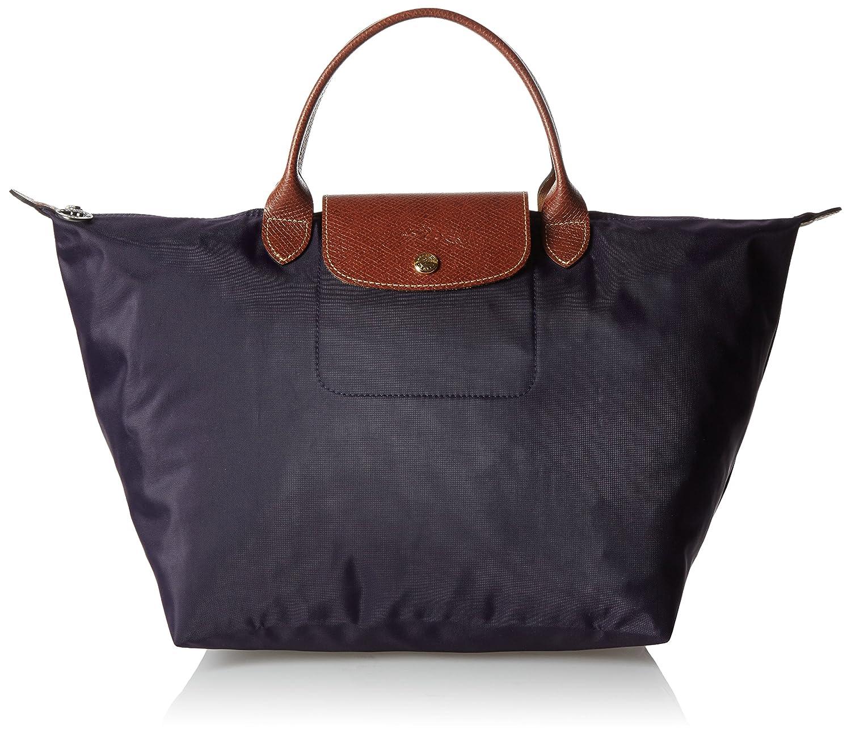 Amazon.com  Longchamp Le Pliage Medium Tote Bag Myrtille (Purple)   Longchamps  Beauty 0e58049445ab8