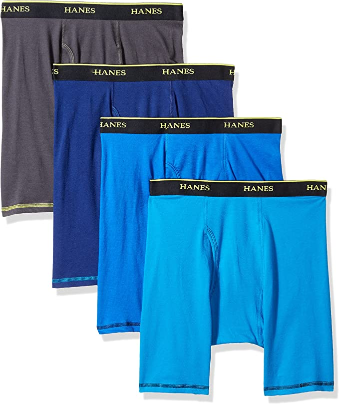 Hanes Mens 5-Pack Cool Comfort Lightweight Breathable Mesh Brief