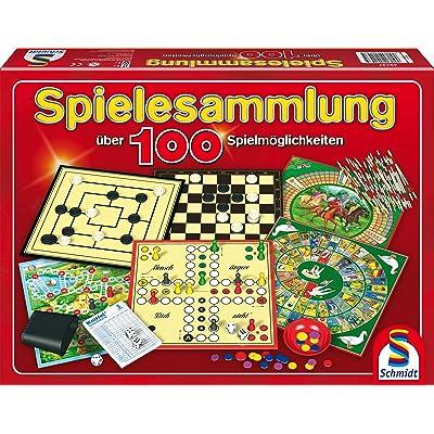 Schmidt Spiele Sp-Sammlung 100 Möglichk.: Toys & Games