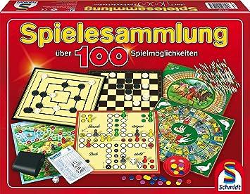 Spielesammlung bunt MIt 100 Spielm/öglichkeiten /& 51214 BMM Vier Schmidt Spiele 49147 Bring Mich mit Spiel in der Metalldose
