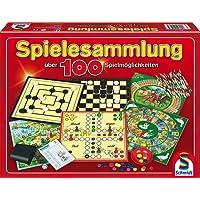 Schmidt Spiele 49147 - Spielesammlung, MIt 100 Spielmöglichkeiten