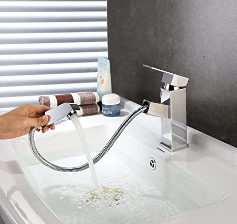 HOMFA Bathroom Sink Faucets Kitchen Basin Mixer Tap for Hot and Cold ...