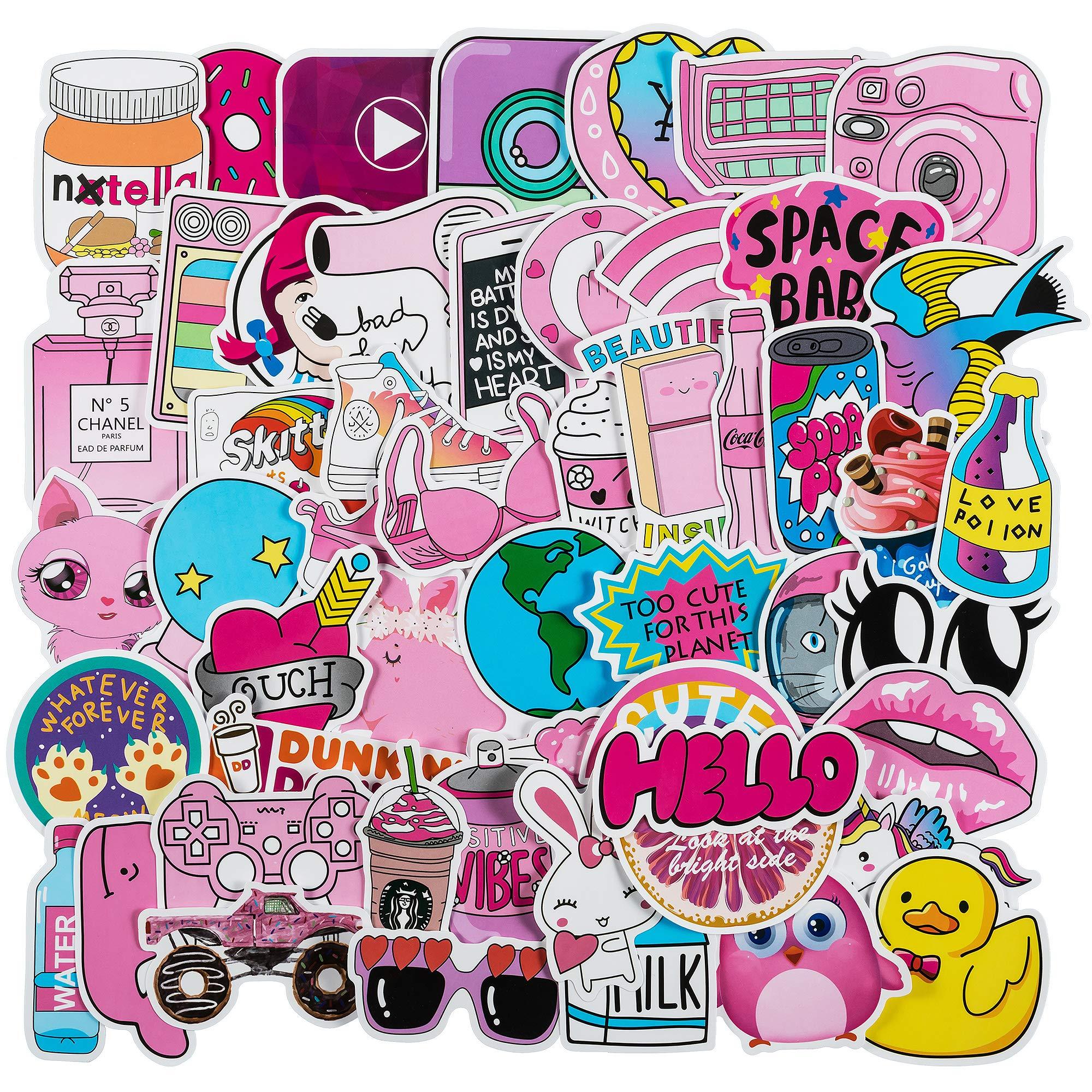 Stickers Calcos 50 un. Surtidos Origen U.S.A. (7JVQCWYV)