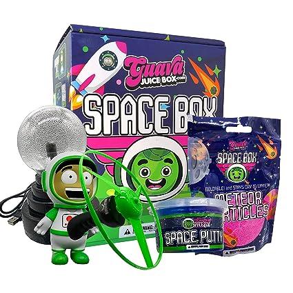 Amazon.com: Nueva caja de espacio de jugo de Guava: Toys & Games