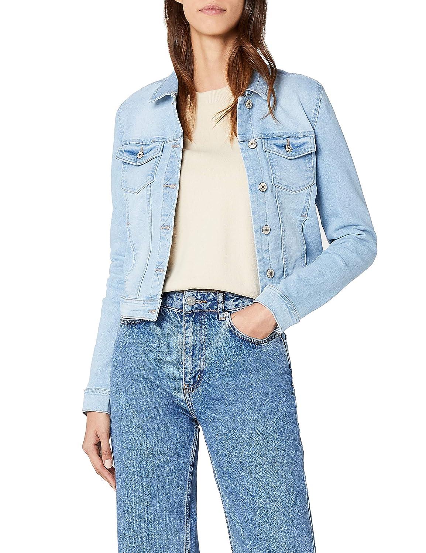 ONLY Damen Jeansjacke Onlnew Westa Detail Jacket L.Blue Noos