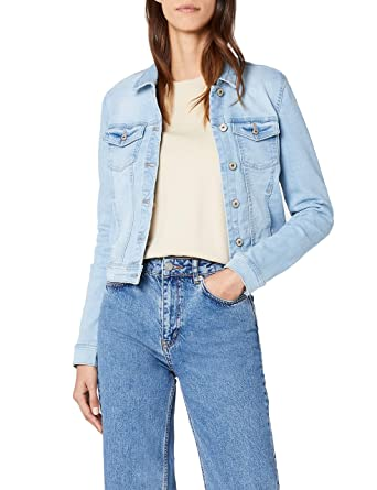 ONLY Damen Jacke Onlnew Westa Detail Jacket L.Blue Noos  Amazon.de   Bekleidung 0f81e6de8d