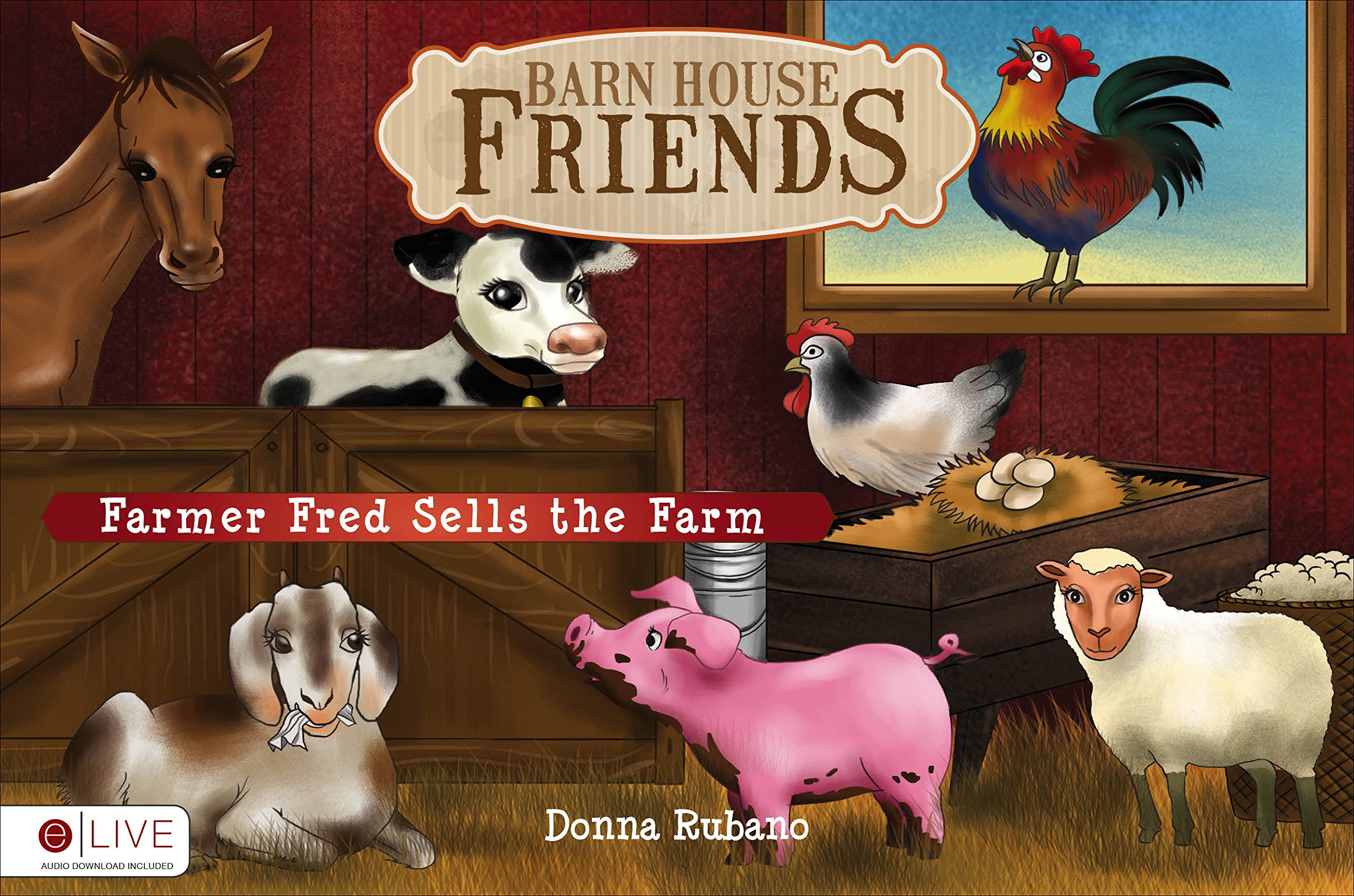 Barn House Friends ebook