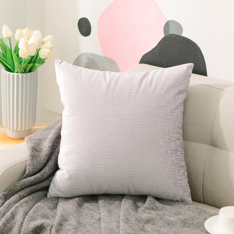 Amazon.com: Home Brilliant Fundas de almohada decorativas de ...