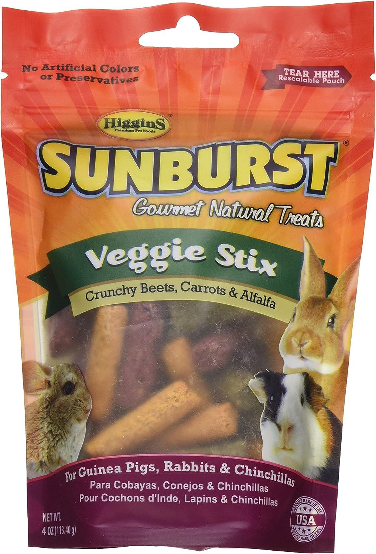 Higgins Sunburst Veggie Stix Gourmet Treats Guinea Pigs, Rabbits & Chinchillas