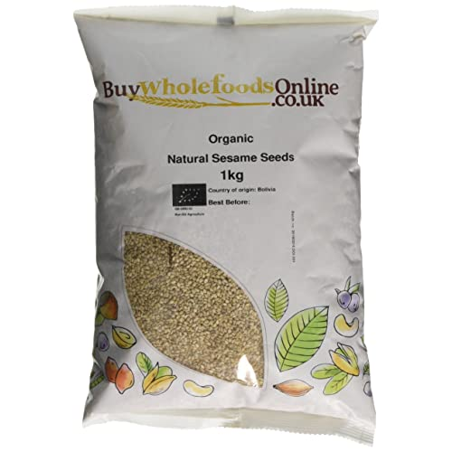 Buy Whole Foods Organic Natural Sesame Seeds, 1 Kg