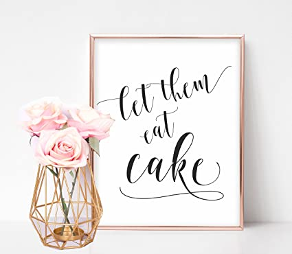 Amazon Com Wedding Cake Sign Cake Table Decorations Wedding Cake