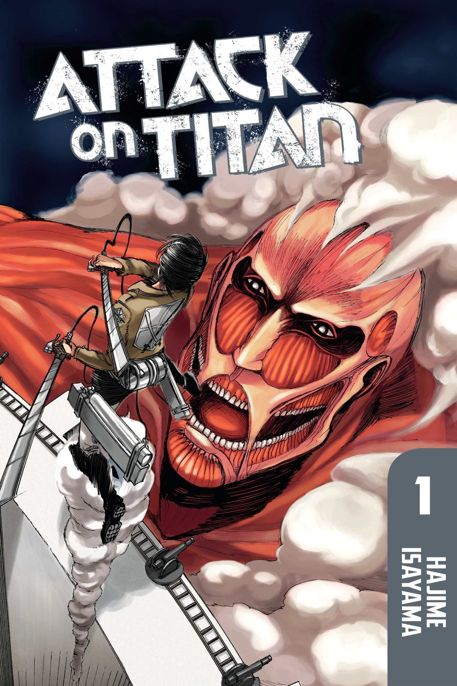 amazon attack on titan 1 hajime isayama science fiction