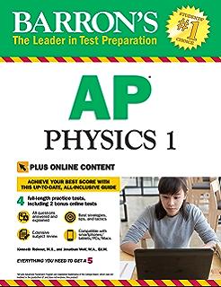 Amazon ap physics 1 essentials an aplusphysics guide ebook barrons ap physics 1 with bonus online tests barrons ap physics fandeluxe Images